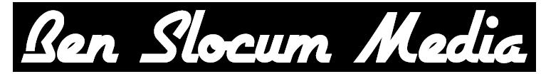 ben slocum media logo title